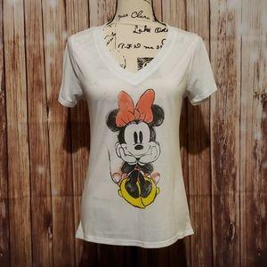 Disney Minnie Mouse v-neck tee